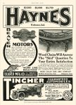 1908 6 11 TINCHER GUARANTEED AUTOMOBILES $6,500 $6,500 in 1908 = $163,604 in 2012 South Bend, IND MOTOR AGE June 11, 1908 8.5″x11.5″ page 60