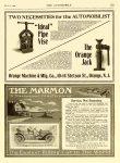 """1909 3 4 MARMON """"A Mechanical Masterpiece"""" Service, Not Sensation Nordyke & Marmon Company Indianapolis, Indiana THE AUTOMOBILE Vol. 20 No. 9 March 4, 1909 9″x12″ page 153"""