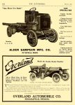 1909 3 4 OVERLAND Indianapolis, Indiana THE AUTOMOBILE Vol. 20 No. 9 March 4, 1909 9″x12″ page 154