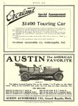1909 11 5 OVERLAND $1400 Touring Car Overland Automobile Co Indianapolis, IND MOTOR AGE November 5, 1908 8.5″x12″ page 56