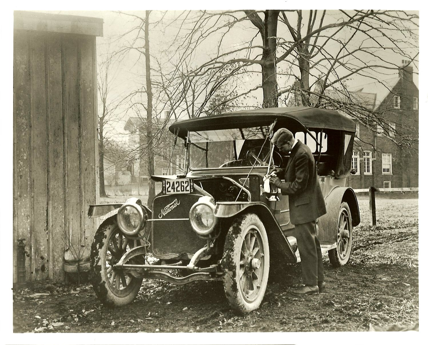 1912-13 NATIONAL John A Conde Collection Bloomfield Michigan 10″x8″ Black & White photograph