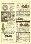 "1910 7 6 EMPIRE EMPIRE TWENTY $950 ""The Little Aristocrat"" 1911 Model C EMPIRE MOTOR CAR COMPANY Indianapolis, Indiana THE HORSELESS AGE July 6, 1910 Vol. 26 No. 1 9″x12″ page 34"