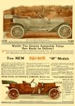 """1910 7 6 INTER-STATE Two NEW Inter-State """"40"""" Models Inter-State Automobile Co Muncie, Indiana THE HORSELESS AGE July 6, 1910 Vol. 26 No. 1 Inside front cover 9″x12″"""