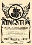 1910 6 22 KINGSTON At Last The Perfect Carburetor BYRNE, KINGSTON & COMPANY Kokomo, IND THE HORSELESS AGE June 22, 1910 8.25″x11.5″ page 1