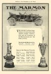"""1910 MARMON """"The Easiest Riding Car in the World"""" Some of the Marmon Victories Nordyke & Marmon Co Indianapolis, Indiana McClure's – The Marketplace of the World 1910 6.25″x9″ page 112"""