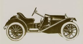 1911 EMPIRE EMPIRE TWENTY $950 Model C Indianapolis, Indiana Photograph of Illustration 10″x8″