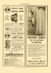 1911 6 7 DIAMOND CHAIN The Test and Proof of Satisfaction Diamond Chain & Mfg Co Indianapolis, Indiana THE HORSELESS AGE June 7, 1911 Vol. 27 No. 23 9″x12″ page 31