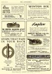 1911 9 28 EMPIRE EMPIRE THE LITTLE ARISTOCRAT $950 EMPIRE MOTOR CAR COMPANY Indianapolis, Indiana The AUTOMOBILE Vol. 25 No. 13 September 28, 1911 9″x12″ page 97