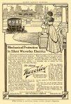 1911 The Silent Waverly The Waverly Company Indianapolis, Indiana Harper's Magazine Advertiser 6.5″x9.5″