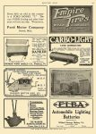 1911 8 8 CARBO-LIGHT Carbo-Light Company Anderson, IND MOTOR AGE August 8, 1911 8.25″x11.75″ page 131