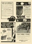 1911 2 9 WAYNE Oil Tanks WAYNE OIL TANK & PUMP CO Fort Wayne, IND MOTOR AGE Feb 9, 1911 8.5″x11.75″ page 126