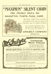 1911 6 7 McINTYRE McIntyre Commercial Motor Vehicles W.H. McINTYRE CO. Auburn, Indiana THE HORSELESS AGE June 7, 1911 Vol. 27 No. 23 9″x12″ page 19