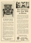 "1912 11 7 EMPIRE ""The Little Aristcrat"" Empire Automobile Co Indianapolis, Indiana MOTOR AGE Nov 7, 1912 8.5″x11.5″ page 103"
