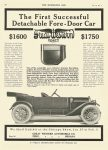 1912 1 24 GREAT WESTERN FORTY The First Successful Detachable Fore-Door Car Great Western Automobile Co. Peru, Indiana THE HORSELESS AGE Jan 24, 1912 Vol. 29 No. 4 8.5″x12″ page 32