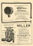 1912 11 7 MILLER Carburetor NEW-MILLER MFG CO Indianapolis, IND MOTOR AGE November 7, 1912 8.5″x11.75″ page 106