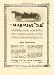 """1913 12 11 ca. MARMON Marmon """"32"""" Outline Specifications Nordyke & Marmon Company Indianapolis, Indiana THE HORSELESS AGE December 11, 1912 Vol. 30 No. 24 9″x12″ page 6"""