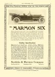 1913 12 11 MARMON Marmon Six Outline Specifications Nordyke & Marmon Company Indianapolis, Indiana THE HORSELESS AGE December 11, 1912 Vol. 30 No. 24 9″x12″ page 7
