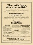 1913 2 17 PREST-O-LITE You can rely on The Prest-O-Lite Co Indianapolis, Indiana MOTOR AGE Feb 17, 1913 8.25″x11.5″ page 61