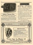 1913 6 5 WARNER GEAR Model K-12 Clutch Warner Gear Co Muncie, IND MOTOR AGE June 5, 1913 8.5″x12″ page 100