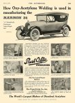 1916 6 8 PREST-O-LITE PROCESS used in manufacturing the MARMON 34 The Prest-O-Lite Co., Inc. Indianapolis, IND THE AUTOMOBILE June 8, 1916 8.25″x11.75″ page 165