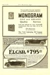 1916 7 15 ELCAR The Class of the Field Under $1000 ELCAR $795 Elkhart Carriage and Motor Car Company Elkhart, Ind. THE HORSELESS AGE July 15, 1916 Vol. 38 No. 2 9″x12″ page 57