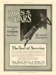 1917 6 14 ROSS GEARS The Ross Gear & Tool Co Lafayette, Indiana MOTOR AGE June 14, 1917 8.5″x12″ page 52