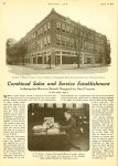 """1919 8 14 MARMON Part 1 4p """"Combined Sales and Service"""" Nordyke & Marmon Company Indianapolis, Indiana MOTOR AGE Aug 14, 1919 8.5″x11.5″ page 22"""