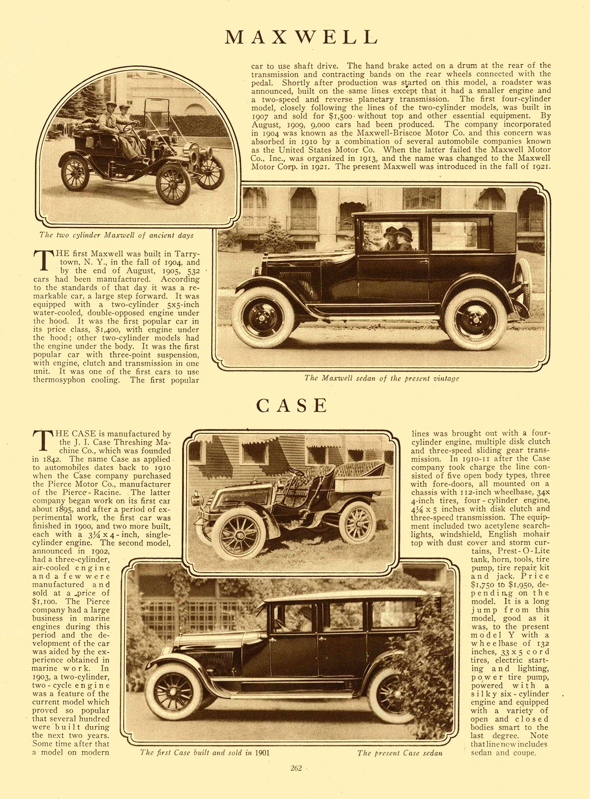 1924 Maxwell   1924 Case MoToR January 1924 Page 262 9.25″13.5″