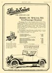 1921 2 10 STUDEBAKER Series 21 Special-Six Roadster LIGHT-SIX Touring Car $1485 = $18,846 in 2012 SPECIAL-SIX Sedan $2750 = $34,899 in 2012 Studebaker South Bend, Indiana MOTOR AGE Feb 10, 1921 8.25″x11.25″ page 58