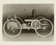 FORD Car 1896 10″x8″ Black & White photograph