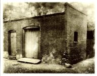 Birthplace of the FORD Car (Exterior) On Bagley Avenue, Detroit, Michigan 10″x8″ Black & White photograph