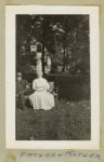 1905 ca. Charles E. Test (1855-1910) One of the founders of National Test Family snapshot ca. 1905 3″x4.75″