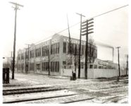 1912 NATIONAL Factory 1001 East 22nd Street & Monon RR NATIONAL Motor Vehicle Company of Indianapolis, Indiana 1916-1924 Bass Photo Company Collection No. 26555 Indiana Historical Society