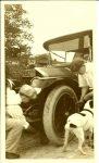 "1912 ca. ""The Fun of Motoring in 1912″ Test Family snapshot 3.5″x5.5"""