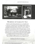 1895 Charles E. Test House, 1895 795 Middle Drive Woodruff Place Indianapolis, Indiana Ghosts of Indianapolis Grand old homes of the city xerox page 17