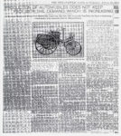 1904 4 23 NATIONAL PRODUCTION OF AUTOMOBILES DOES NOT KEEP PACE WITH THE DEMAND, WHICH IS INCREASING (National Company's Success) THE INDIANAPOLIS NEWS Saturday April 23, 1904 xerox