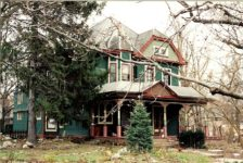 2001 12 24 Charles E. Test House, 1892 795 Middle Drive Woodruff Place Indianapolis, Indiana CDT snapshot: December 24, 2001 6″x4″