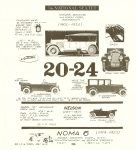 1920-24 NATIONAL SEXTET (1900-1924) MONSTROUS American Car Spotter's Guide 1920-1980 By Tad Burness 1986 Motorbooks International Osceola, WIS LCCCN: TL23.B83 1986 86-12754 ISBN: 0-87938-223-6 8.5″x9.25″ page 186