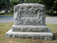 NEWBY Family plot Crown Hill Cemetery Indianapolis, Indiana Photo: Set Musselman