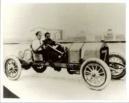 1910 5 28 NATIONAL Saturday May 28, 1910 (19 cars racing) Event 7 – 200-mile Wheeler-Schebler Trophy Race open to stock chassis/engines Less than 600 CID Place 3 Car 7 Driver Johnny Aitken National Photo courtesy: Indianapolis Motor Speedway 28/28A