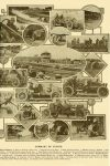 1909 10 NATIONAL, CHALMERS-DETROIT Summary of Events (1909) Indianapolis Motor Speedway: 2. National driven by Aiken 10. National, driven by Oldfield MOTOR PRINT magazine October 1909 11″x14″ page 11
