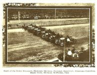 1910 9 8 NATIONAL Sept 3, 1910 Start of the Remy-Brassard Event 11 – 100-mile Remy Grand Brassard open to stock chassis/engines LESS than 451 CID (11 cars racing) Place 1 Car 9 Driver Howard Wilcox National Place 2 Car 11 Driver Charlie Merz National Photo: THE AUTOMOBILE magazine September 8, 1910 page 386