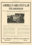 1910 6 15 AMERICAN America's Greatest Car The American Motor Car Company Indianapolis, Indiana THE HORSELESS AGE June 15, 1910 8.25″x12″ page 3