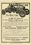 1910 8 31 NATIONAL National 40 Wins Illinois Trophy At Elgin, ILL NATIONAL MOTOR VEHICLE COMPANY Indianapolis, IND THE HORSELESS AGE August 31, 1910 8.25″x11.75″ page 33