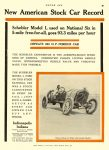1911 4 6 SCHEBLER New American Stock Car Record National Six in 5-mile free-for-all WHEELER & SCHEBLER Indianapolis, IND MOTOR AGE April 6, 1911 8.5″x12″ page 49