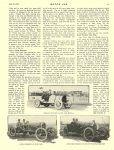 1913 5 22 STUTZ, CASE Indianapolis 500 Article Practice Starts for the International Motor Sweepstakes By C. L. Cummins MOTOR AGE May 22, 1913 University of Minnesota Library 8.5″x11.5″ page 11