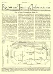 1913 5 22 STUTZ, CASE Indianapolis 500 Article Routes and Touring Information How to Reach Indianapolis by Motor Car MOTOR AGE May 22, 1913 University of Minnesota Library 8.5″x11.5″ page 21