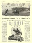 1913 6 2 STUTZ, CASE Indianapolis 500 Article Speedway Honors Go to French Car C. G. Sinsabaugh MOTOR AGE June 2, 1913 University of Minnesota Library 8.5″x11.5″ page 5