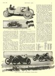 1913 6 2 STUTZ, CASE Indianapolis 500 Article Speedway Honors Go to French Car C. G. Sinsabaugh MOTOR AGE June 2, 1913 University of Minnesota Library 8.5″x11.5″ page 7