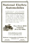 1901 ca. NATIONAL xerox of magazine ad Courtesy of the Antique Automobile Club of America Library Hershey, PA